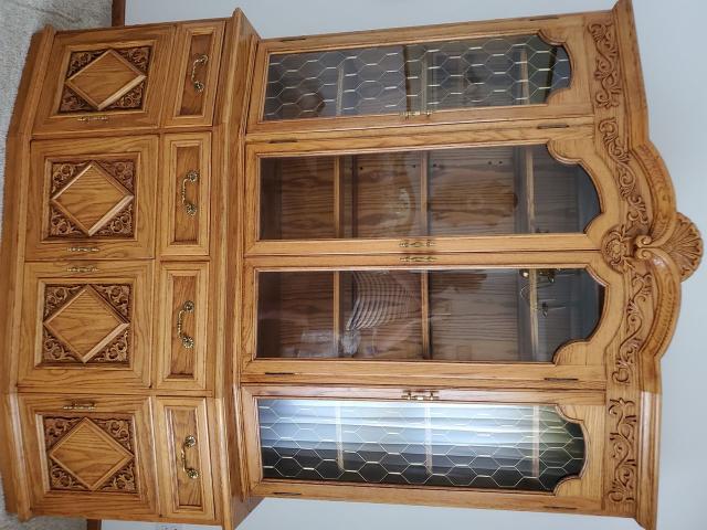 Oak China Cabinet in Medina, Medina County, Ohio - Marion ...